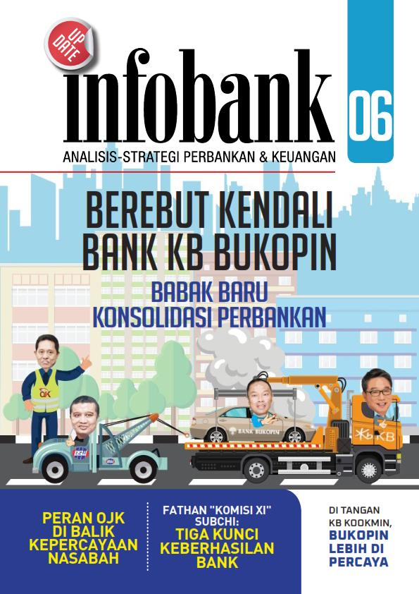 Infobank Update Maret 2021 : Berebut Kendali Bank KB Bukopin (Free)