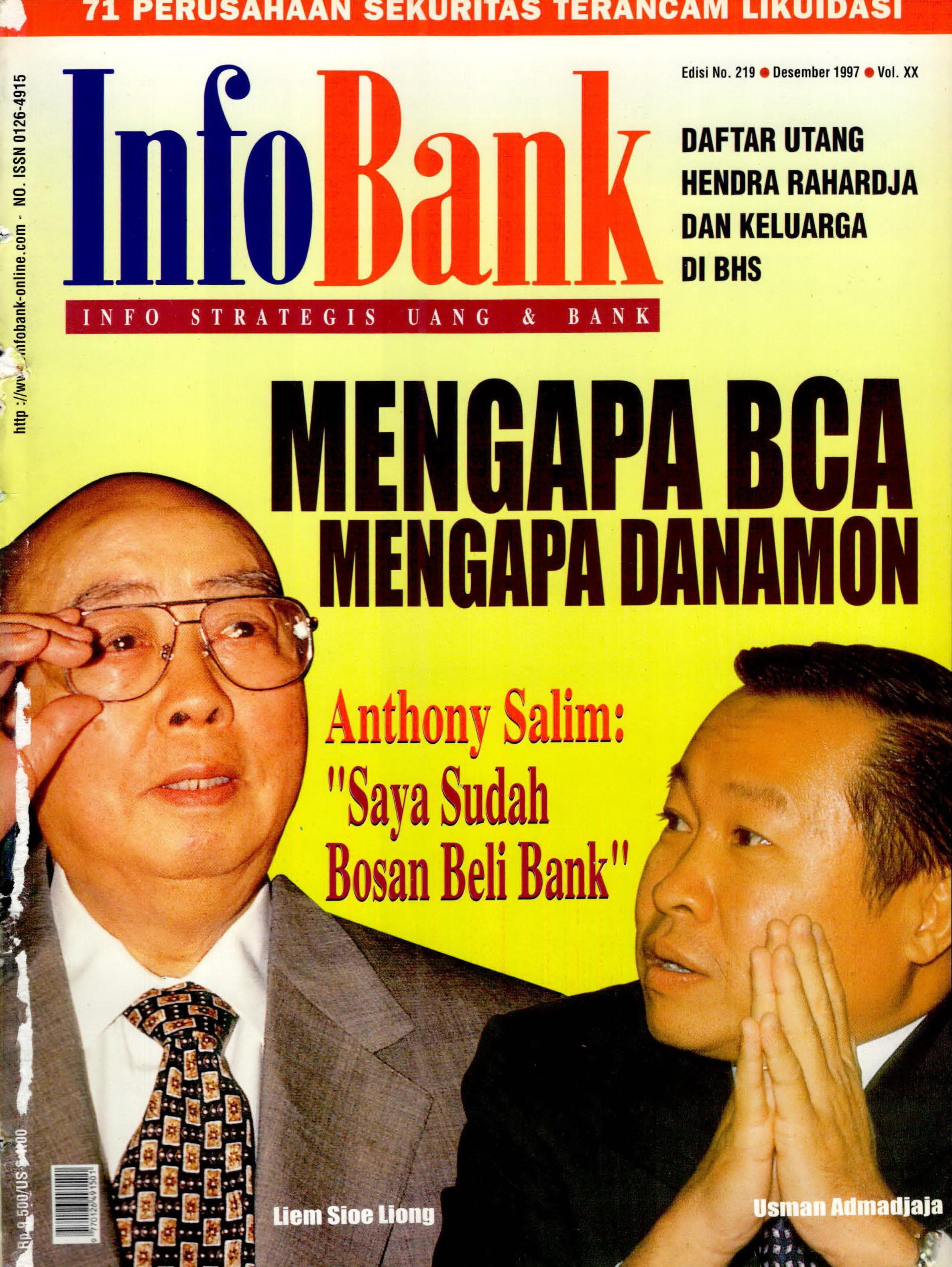 Infobank Edisi Desember 1997